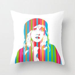 Stevie Nicks | Pop Art Throw Pillow