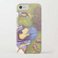 dramatical murder iPhone & iPod Cases featuring Dramatical Murder-Aoba & Ren by Gin-Uzumaki