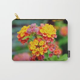 Lantana Clusters Carry-All Pouch