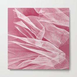 Pink veil 3 Metal Print