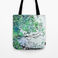 Autumn 5 Green Tote Bag
