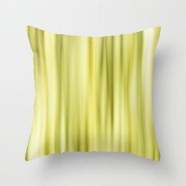 Strpes yellow Throw Pillow