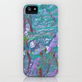 Holographic gradient iPhone Case