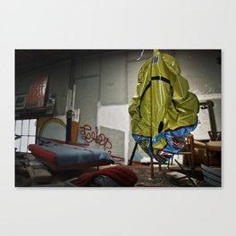 Living Alone Canvas Print