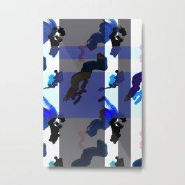 Painty Metal Print