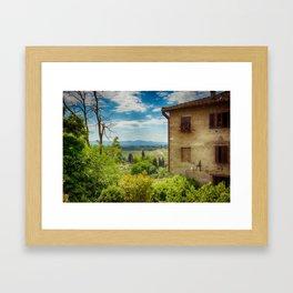 San Gimignano, Tuscany, Italy Framed Art Print