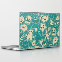kawaii Laptop & iPad Skins featuring Kawaii by Hoborobo