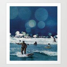 Surfers Hymn.  Art Print