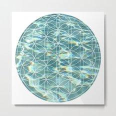 Abstract Pool Metal Print
