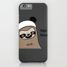 Sloth says trust me, I'm a panda iPhone 6s Slim Case