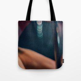 Pole Dancer Abstract Tote Bag