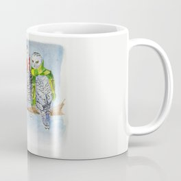 Football Owl Coffee Mug