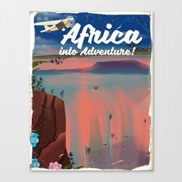Africa Into Adventure! Canvas Print