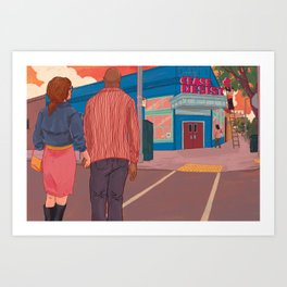 The Problem with Putting Your Name on a Restaurant Art Print