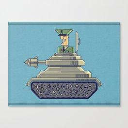 General Mayhem — cartoony vector illustration Canvas Print