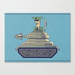 General Mayhem — cartoony vector illustration Canvas Print
