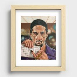 Jesus Quintana. Recessed Framed Print