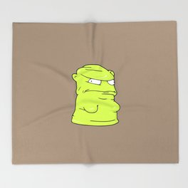 Melted Kuchi Kopi - Bob's Burgers Throw Blanket