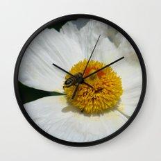 Entomophily Wall Clock