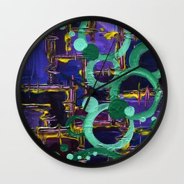 .through the ringer. Wall Clock