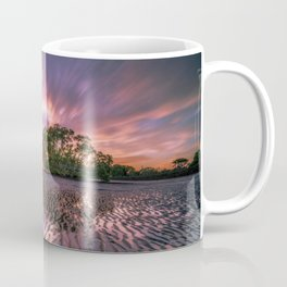 Broadleaf In Watts At Sunset Magenta Satuation Coffee Mug