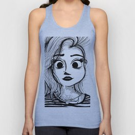 Roth-2 by 2 ( hands of blue ).  Unisex Tank Top