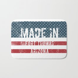 Made in Fort Thomas, Arizona Bath Mat