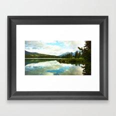 Lac Beauvert Framed Art Print