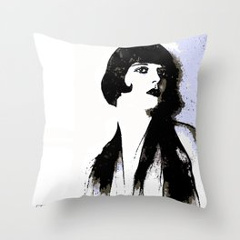 LOUISE BROOKS:  MY LOVE IS ALL I HAVE TO GIVE Throw Pillow