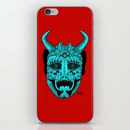Who do you love? iPhone Skin