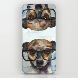 DOG #8 iPhone Skin
