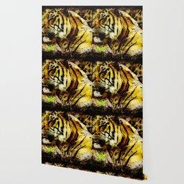Wild Tiger Artwork Wallpaper