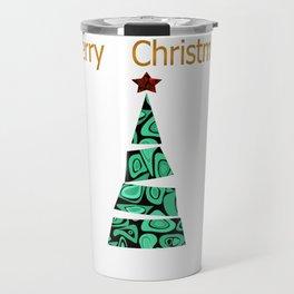 merry Christmas . Travel Mug
