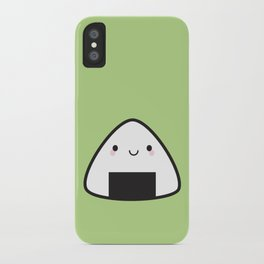 Kawaii Onigiri Rice Ball iPhone Case