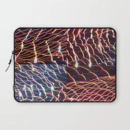 high voltage fishing Laptop Sleeve