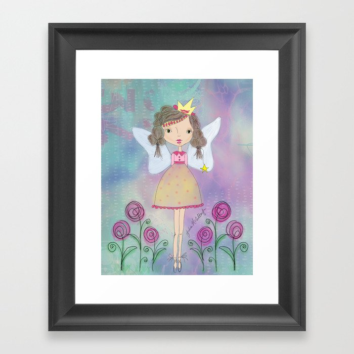 Princess Fairy Framed Art Print