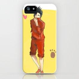 Haikyuu!! - Kuroo Tetsurou iPhone Case