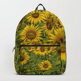 SUNFLOWERS 3 Backpack