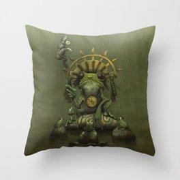 Leptopelis Uluguriensis Throw Pillow