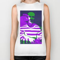 picasso Biker Tanks featuring Picasso by Art Pop Store
