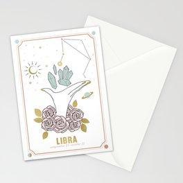 Libra Zodiac Series Stationery Cards