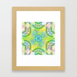 A colorful kaleidoscope 3 Framed Art Print