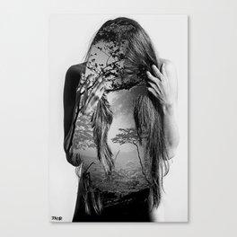 somewhere inside Canvas Print