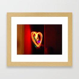 Light Love Framed Art Print