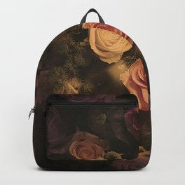 Green apples and Roses Backpack