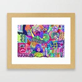 Girls These Days Framed Art Print
