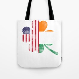 Saint Patrick Green Ireland USA clover gift Tote Bag