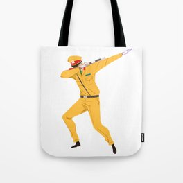 Vietnamese Traffic Cop Dab Tote Bag