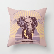 Patience & Wisdom Throw Pillow