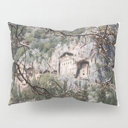 Wisteria Buds Surrounding the Lycian Tombs Dalyan Pillow Sham